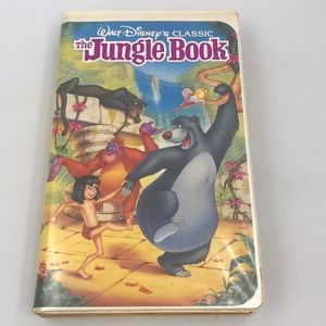 Disney 📼 The Jungle Book: The movie VHS